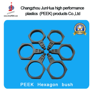Peek Hexagon Bush for The Textile Machinery Industry pictures & photos