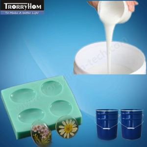 White Low Viscosity Silicone Mold Rubbers for Resin Crafts pictures & photos