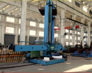 Girth and Longitudinal Seam Column Boom Welding Manipulator