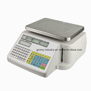Ntep Approval Barcode Label Printing Price Computing Scale pictures & photos
