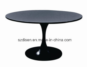 Modern Tempered Glass Dining Table (DS-T21) pictures & photos