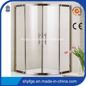 Tempered Glass Simple Shower Enclosuer