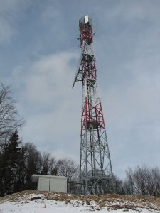 Radio and TV Broadcasting Microwave Monopole Tower pictures & photos