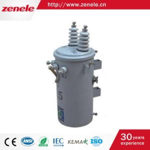 Single Phase Oil-Immersed Pole Mounted Distribution Transformer pictures & photos