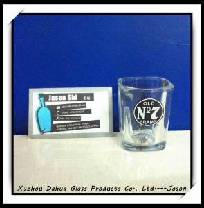 Factory Hot Sale 50ml Square Glass Cup pictures & photos