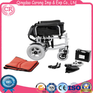 Power Lightweight Electric Battery Folding Wheelchair Bz-6201 pictures & photos