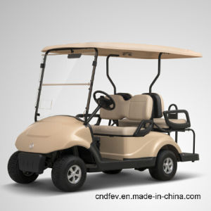 China Top1 4 Seats Electric Tourism Car, Golf Cart pictures & photos
