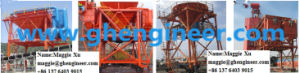 40 Cbm Port Handling Machine Dust Collector Mobile Hopper pictures & photos