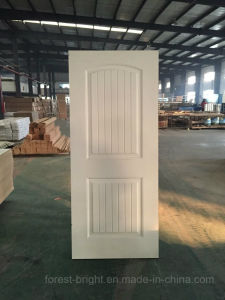 China White Wooden Door with HDF Molded Skin pictures & photos