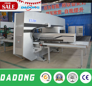 CNC Servo Motor Driven Turret Punch Press Machine for Alumium Plate pictures & photos