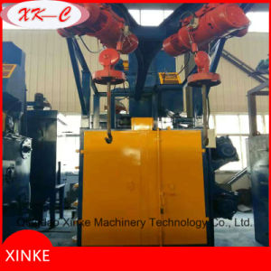 Electric Hoist Lifting Shot Blasting Dry Cleaning Machine pictures & photos
