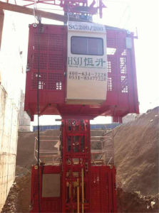 Hssc200/200 Construction Elevator for Sale pictures & photos