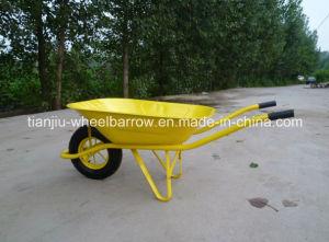 Wheelbarrow for Garden or Building (steel/Pneumatic wheel/solid wheel) pictures & photos