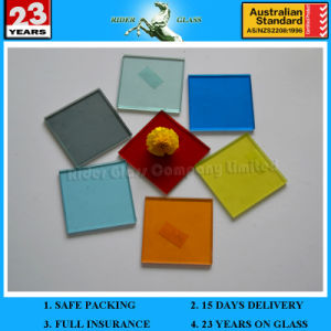 3/4/5/6mm + 0.38 Clear PVB + 0.38 Color PVB + 3/4/5/6mm Safety Laminated Glass pictures & photos