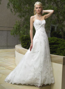 Wedding Bridal Dress in Lace (TSWD0412)