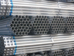 Length 4-9m Galvanized Steel Pipes pictures & photos