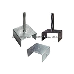 U-Type Pole Anchor/U-Type Support Bracket/U-Type Fence Post Support pictures & photos
