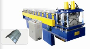 Ridge Cap Tile Forming Machine Step Roof Tile Forming Machine pictures & photos