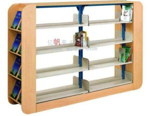 School Library Big Double Side Bookself High-Capacity Bookcase pictures & photos