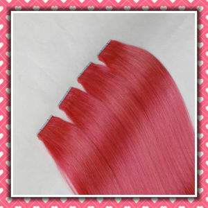 Brazilian Human Hair Virgin Remy Skin Weft Silky 18inch pictures & photos
