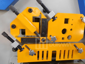 Hydraulic Iron Worker for Angle Cutting pictures & photos