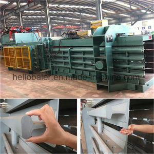 Hydraulic Automatic Waste Paper Bailer Banding Machine for Recycling Plant pictures & photos