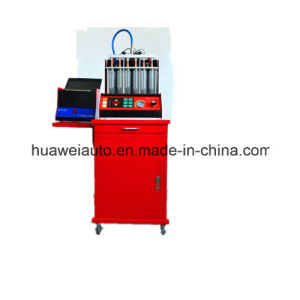 Hw-6D Fuel Injector Cleaning Machine pictures & photos