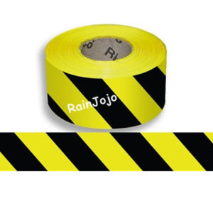 Double Colors (yellow/black) PE Warning Tape pictures & photos