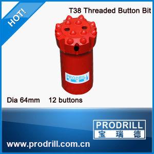 64mm T38 Button Bit pictures & photos