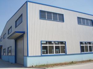 China Style Light Steel Structure Prefabricated Warehouse Hangar pictures & photos