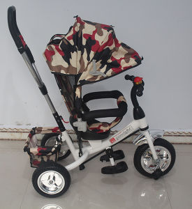 China Wholesale Baby 4 In1 Stroller Pram Kids Push Tricycle pictures & photos