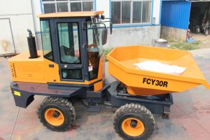 Mini Hydraulic Front Site Dumper with Tipper Bucket pictures & photos