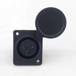 Mobility Scooter Parts XLR Charging Port with Cap Charger Socket pictures & photos