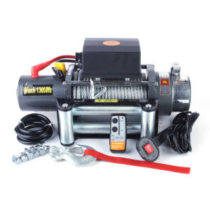13000lb Electric Truck Winch with Rotating Clutch (SC13.0X) pictures & photos