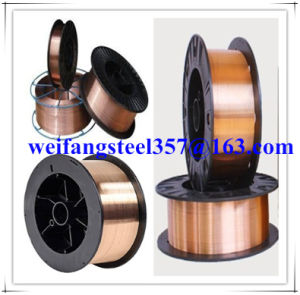 Copper Solder Wire Welding Wire Er70s-6/ Sg2/ G3si1 MIG Welding Consumable From Golden Bridge Manufacturer pictures & photos
