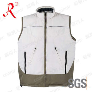 High Quality Winter Warmer Polyester Vest (QF-811) pictures & photos
