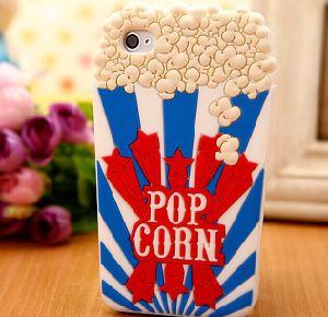 New Style Pop Corn Silicone Mobile Phone Case (BZPC028)