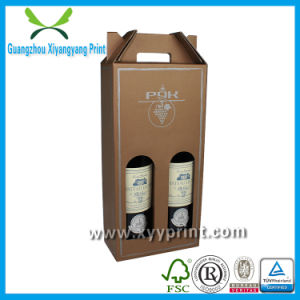 Custom High Quality Strong Wine Gift Box with Window pictures & photos