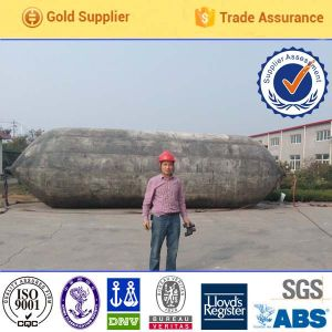 Nature Rubber Material Ship Launching and Ship Landing Airbag pictures & photos