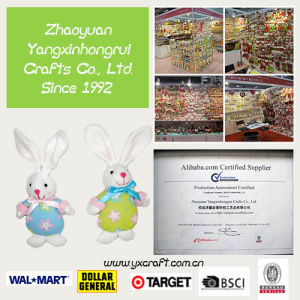Easter Decoration (ZY13L948-1-2) Easter Bunny Chick Angel Craft Easter Bag Stuffed Item Decoration pictures & photos