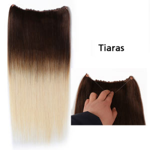 """Top Quality Flip in Hair Extensions Remy Hair Flip in Hair Extension18""""20""""Length Wholesale Price Straight Flip in pictures & photos"""