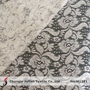 Stretch Allover Lace Fabric Wholesale (M1381) pictures & photos