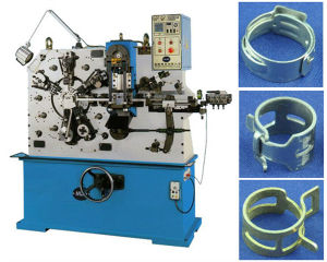 Full Automatic CNC Hose Clamp Machine for Spring Band, Oetiker Hose Clamps pictures & photos