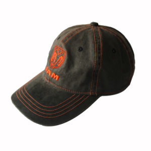 Wholesale 6 Panelwahsed Cotton Custom Embroidered Baseball Cap and Hat (GKA01-D00096) pictures & photos