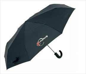 Black 3 Section Umbrella (BR-ST-52) pictures & photos