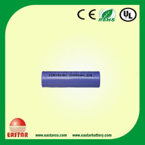 18650 Battery 3.7V 2600mAh Li-ion Battery, Cylindrical Battery pictures & photos