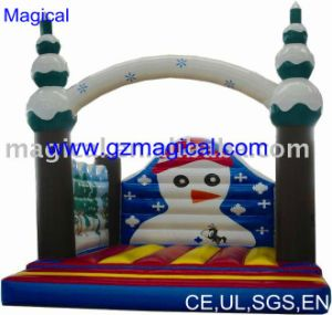 Christmas Inflatable Snowman Bouncer for Promotion (MIC-389) pictures & photos