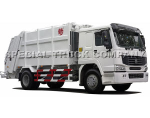 HOWO Garbage Truck 16m3 (ZZ1167M4611W) pictures & photos