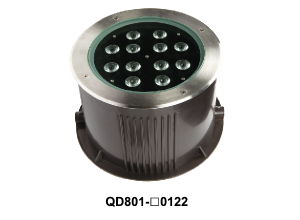 LED Underground Light with Stainless Steel Surface Ring