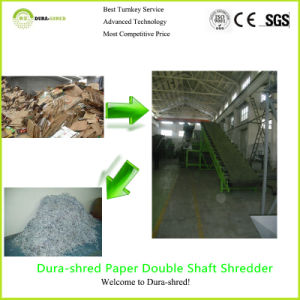 Dura-Shred Small Type Waste Paper Recycling Machine (TSD832) pictures & photos